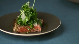 wine with steak recipe